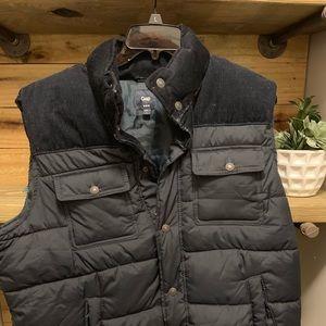 Retro Gap Puffer Vest